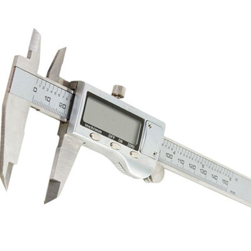 Comprar Paquímetro Digital Aço Inox Alphaville Industrial - Paquímetro Digital Aço Inox