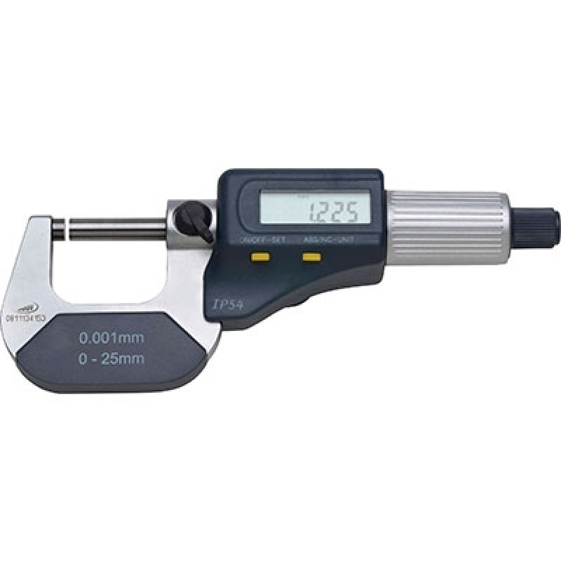 Micrômetro Externo 0-25mm Hortolândia - Micrômetro Externo Digital Centesimal