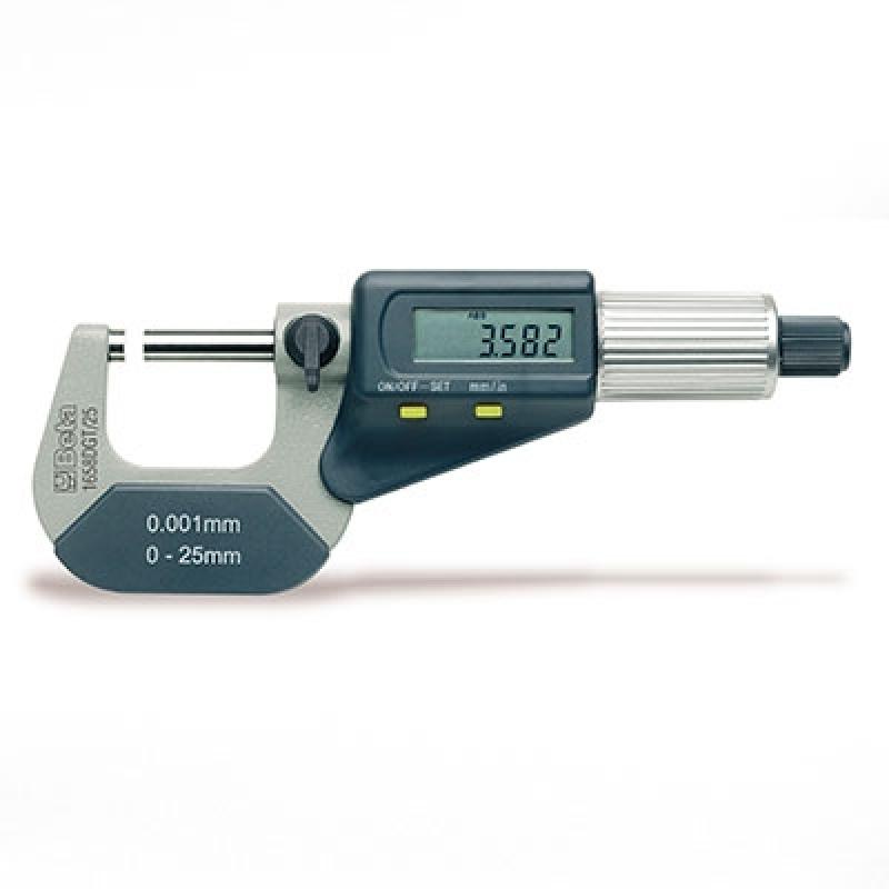 Micrômetro Externo 25-50mm Barato Marapoama - Micrômetro Externo Digital Centesimal