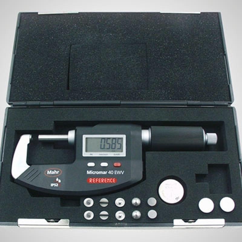 Micrômetro Externo Mahr Vila Élvio - Micrômetro Externo 25 a 50mm