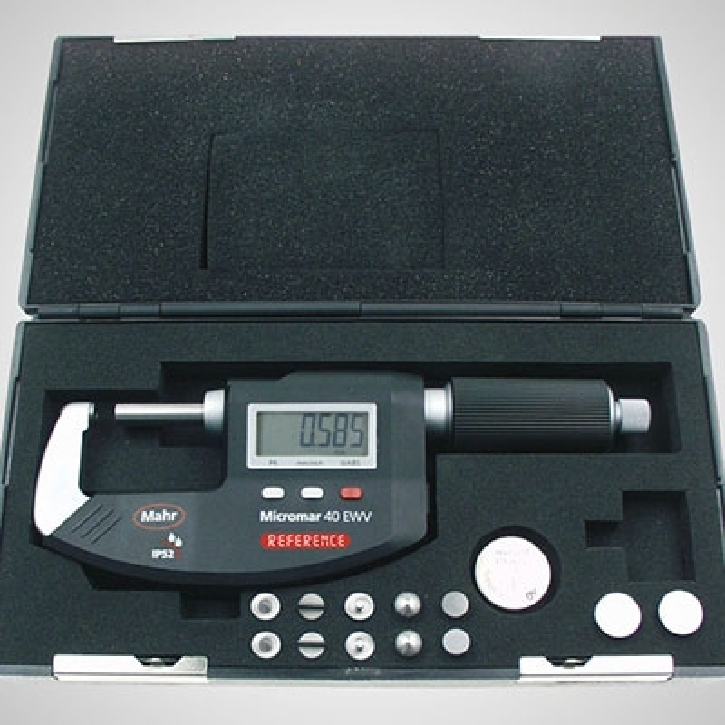 Micrômetro Externo Mahr Cosmópolis - Micrômetro Externo 0-25mm