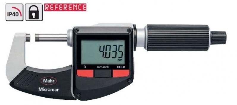 Micrômetros Externos Digitais com Ip 65 Tatuí - Micrômetro Externo 50-75mm