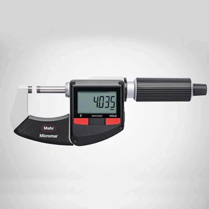Onde Tem Micrômetro Externo Mahr Pirapora do Bom Jesus - Micrômetro Externo 25 a 50mm