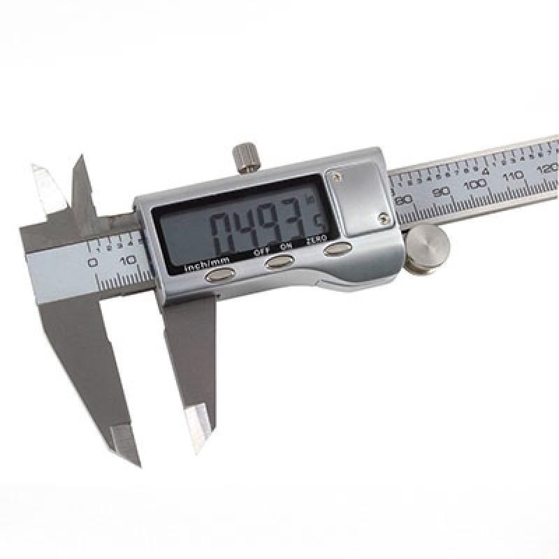 Paquímetro Digital Aço Inox ABC - Paquímetro Digital Mahr