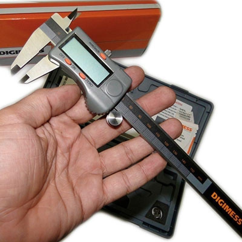 Paquímetro Digital Digimess Preço Guararema - Paquímetro Digital 200mm