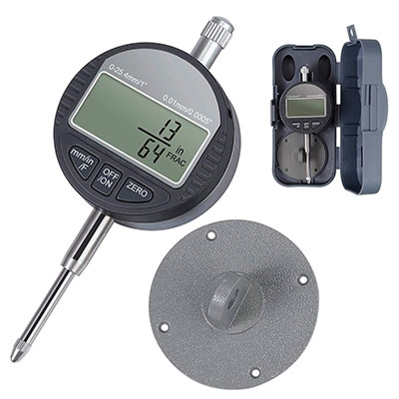 Relógio Comparador Digital Alphaville Industrial - Relógio Comparador