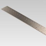 escala inox de medição flexível Sumaré