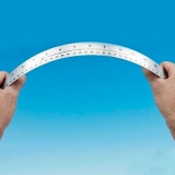 escala de medição flexível